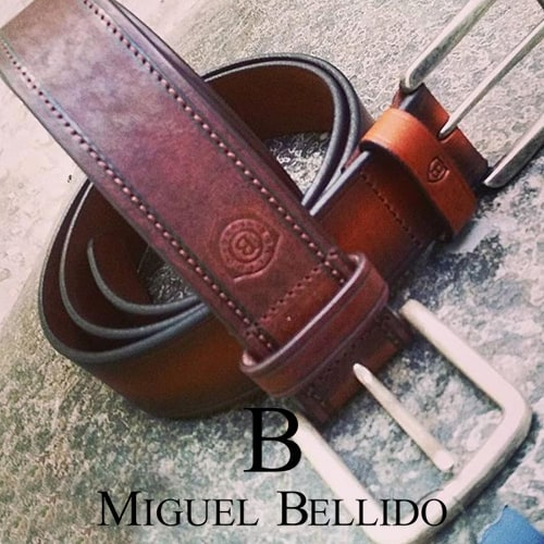 Miguel Bellido belt